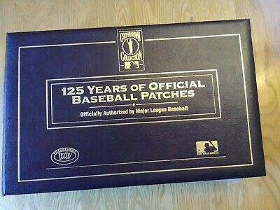 Cooperstown Collection 125 Years of Baseball Patches HOF Yankees  Red Sox (40)