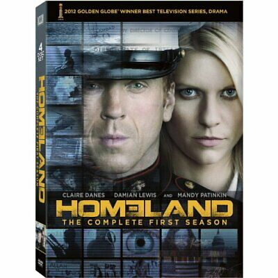 Homeland: The Complete First Season (DVD, 2015, 4-Disc Set, Canadian)