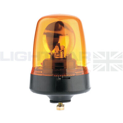 Britax Single Bolt Mount Agriculture Halogen Rotating Flashing Amber Beacon
