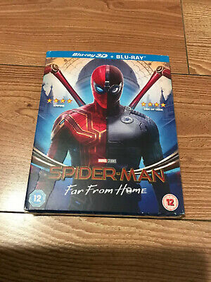 Spider-Man: Far From Home [Blu-ray 3D + 2D] (2019)  SLIPCOVER  ONLY NO DISC