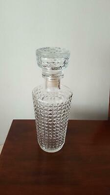 Beautiful  Old  Glass  Decanter