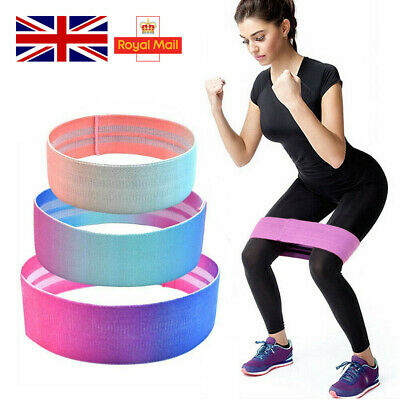 Resistance Bands Exercise Loop Band Set Fitness Gym Yoga Elastic Hip Booty Band