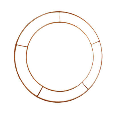 "Wreath Flat Wire Rings 12"" Xmas Mossing Ring Craft flower Decor Oranment Best"