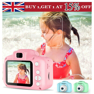 2.0 Inch Mini Digital Camera Camcorder Video 1080P For Children Kids Gift UK