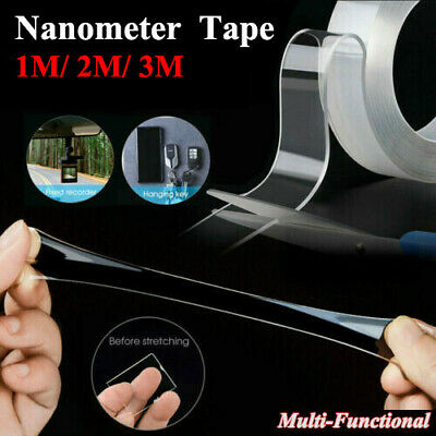 Nanometer Magic Tape DoubleSided Traceless Washable Adhesive Invisible Anti-Slip