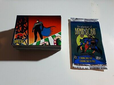 The Adventures Of Batman And Robin Trading Card PART Set