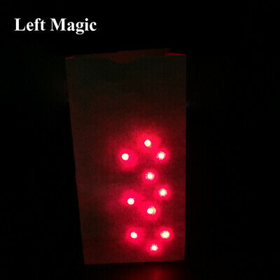 Bag O Lites+2 Light-up Thumb Tips Comedy Stage Magic Tricks Magic Props Toy New