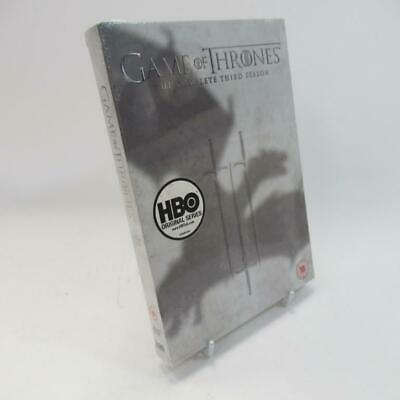 Game of Thrones - The Complete Third Season DVD - WB HBO - Unused Sealed Box