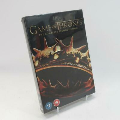 Game of Thrones - The Complete Second Season DVD - WB HBO - Unused Sealed Box