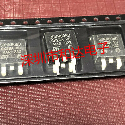 20 x 10N60M2 STB10N60M2 N-channel Power MOSFETs TO-263 600V 7.5A