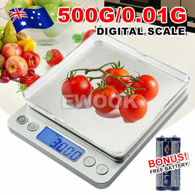 0.01G-500G Electronic Mini Digital Pocket Jewelry Gold Weighing Kitchen Scales