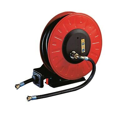 High Pressure Retractable Hose Reel, 30m Capacity, Pressure Washer,Excludes Hose