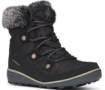 COLUMBIA Heavenly Shorty BL1652010 Waterproof Insulated Warm Shoes Boots Womens