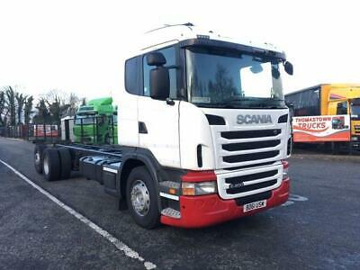 2012 Scania G400 Sleepercab Rear Lift Axle Chassis & Cab