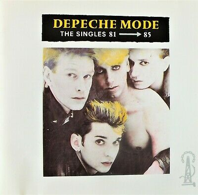 Depeche Mode  The Singles 81-85   Cd Album.