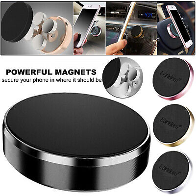 Universal Magnetic Car Mount Dashboard, Steering Wheel Holder For Mobile Phones