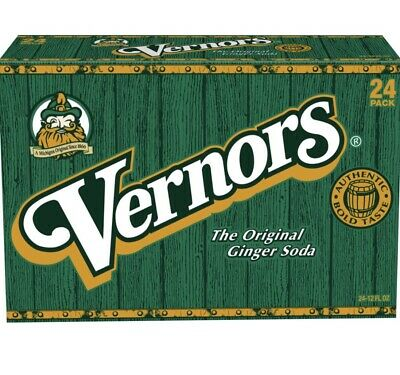 One Pack of 18-12 oz Cans of Vernors Ginger Ale Soda (Total of 216 Fluid Ounces)
