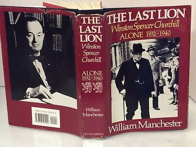 WINSTON CHURCHILL ~ THE LAST LION -Vol 2 1932-40 1st Ed HB$DJ William Manchester