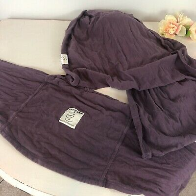 Baby K'Tan Eggplant Purple Baby Carrier Sling Wrap Small