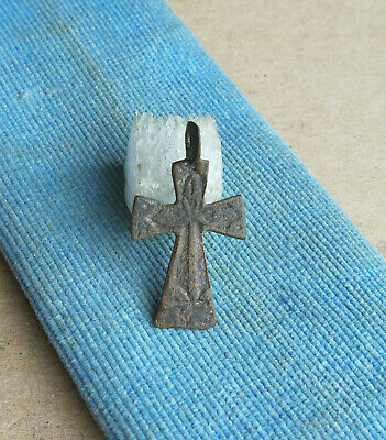 "Antique Catholic Or Orthodox Skull Cross ""All-Seeing Eye"" Triangle ""Iron"" Pattee"
