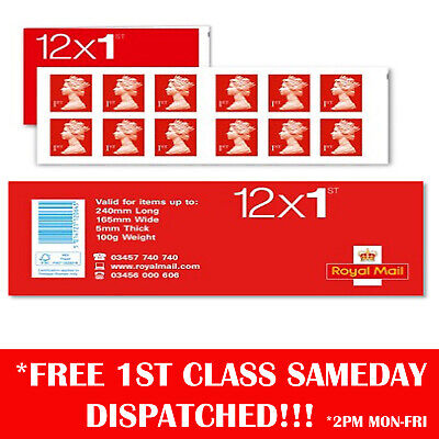 1200 1st Class Stamps First Class Postage Stamps NEW GENUINE Self Adhesive !!