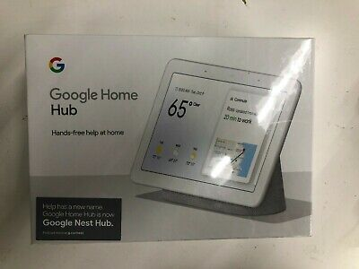 A-28 Google Home Hub with Google Assistant (Chalk) (GA00516-US)