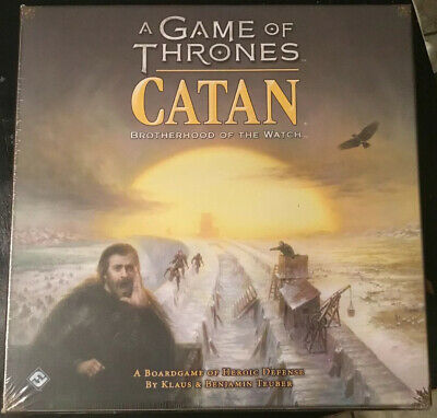Game Of Thrones Catan Brand New In Shrink Wrap FREE SHIPPING