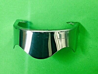 Vespa Polished Stainless Steel Steering Column Cover
