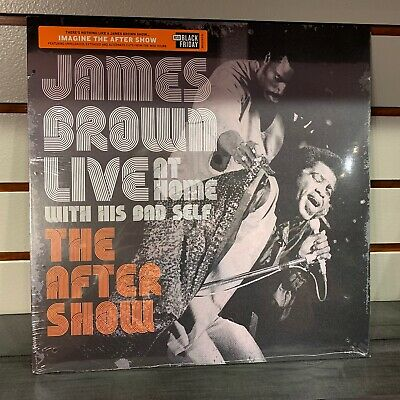 """James Brown  - """"Live At Home: The After Show"""" New RSD BF 2019"""