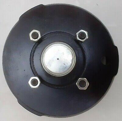"Peak Dynamics 203mm x 40mm Trailer Brake Drum 4 stud x 4.5"" PCD"