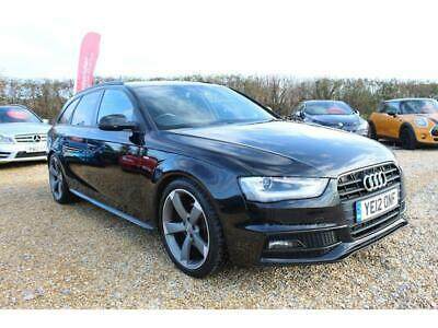 Audi A4 Avant Tdi S Line Black Edition Estate 2.0 Manual Diesel