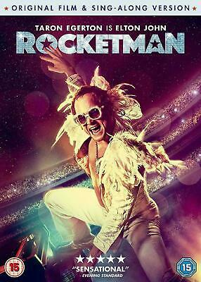 Rocketman DVD 2019 Brand New Sealed 1st Class Post   ORIGINAL FILM  ,SING ALONG