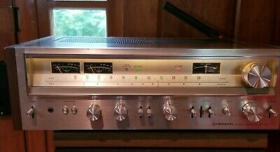 Pioneer SX-780 Stereo Receiver Very Clean Walnut Case
