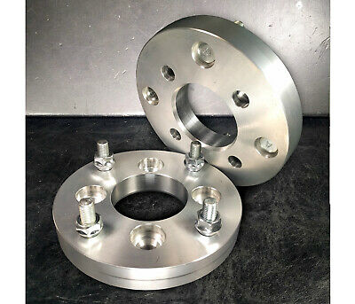 """1/"""" Spacer hub 25mm Thick x4 MADE IN USA4x100 to 4x110 Wheel Adapters"""