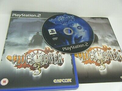 Rare Clock Tower 3 Playstation 2 Game Complete With Manual