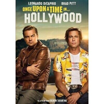 ☆ ONCE UPON A TIME IN HOLLYWOOD~(DVD-Only) + Case + Ships in Paper DVD Sleeve ☆