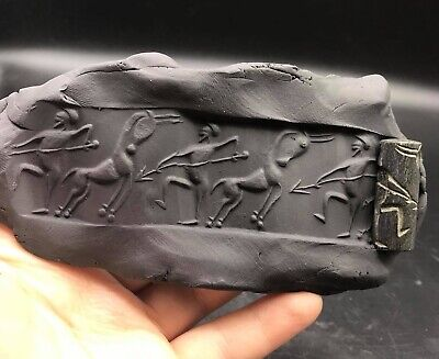 Wonderfull Very Old Manjadaro Period Bolouchistan Sylet Stone Cylinder Seal