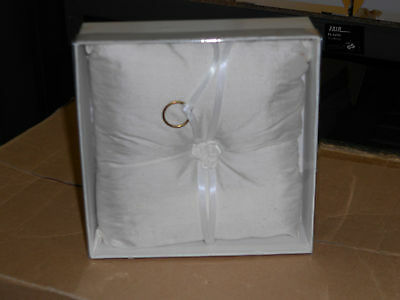 Kitted Out Wedding Ring Cushion ~ 4.99P No Reserve ~ Unwanted