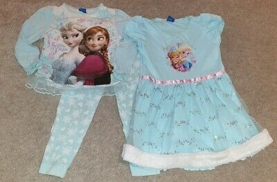 Girls Frozen PJ's/Nightie - Age 4-5 Years