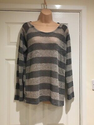 "Mothercare ""Blooming Marvellous"" Thin Knit Stripe Maternity Jumper BNWT Size 12"