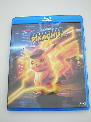 Pokémon Detective Pikachu │ Blu-Ray Only │ No Digital Copy │ No Slipcover