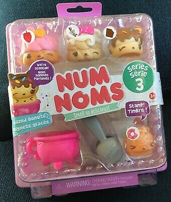 Num Noms Series 3 Sprinkles Donut 013 Scented Cover FREE SHIP $25