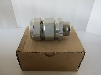 """*NEW* Eaton Crouse-Hinds TMC4140 Terminator Cable Fitting Size 1-1//4/"""" FreeShip"""