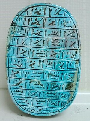 The Pharaonic Scarab is a mascot, a hunter of perversity and envy..5