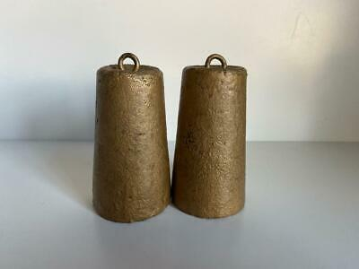 """Pair of Vintage  Clock  Weights 4""""inch Height"""