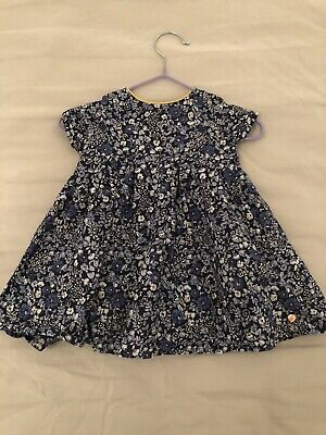 Baby Girls M&S Autograph Dress 3-6 Months Worn Once Party Wedding Christmas