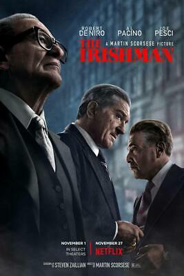 The Irishman  Martin Scorsese, Robert De Niro, [2019]