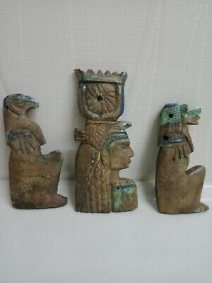 Pharaonic rarities fit three pieces