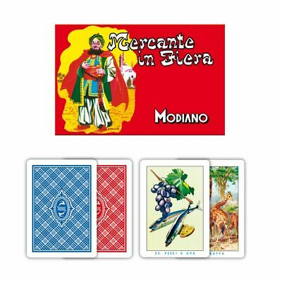 Carte da Gioco Modiano Mercante in Fiera