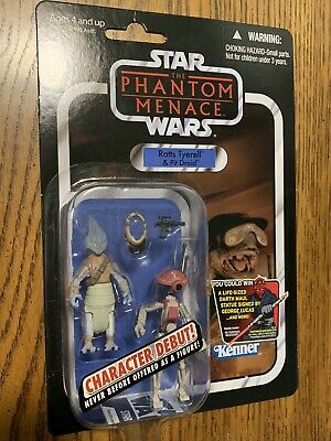 Star Wars Vc77 Ratts Tyerell Pit Droid Phantom Menace Vintage Collection New!